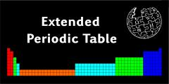 Extended Periodic Table (Wikipedia)